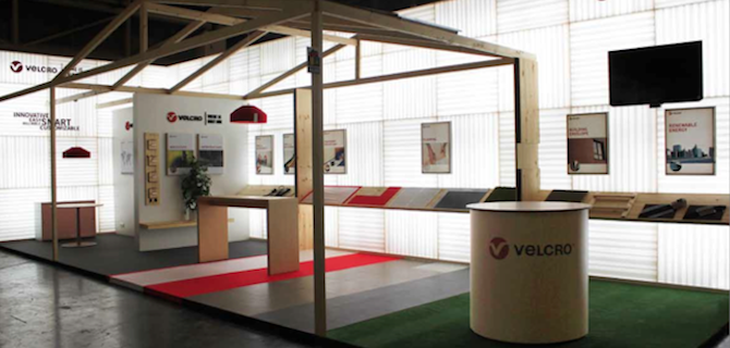 VELCRO® Brand Construction Product Demonstration Booth BAU 2013