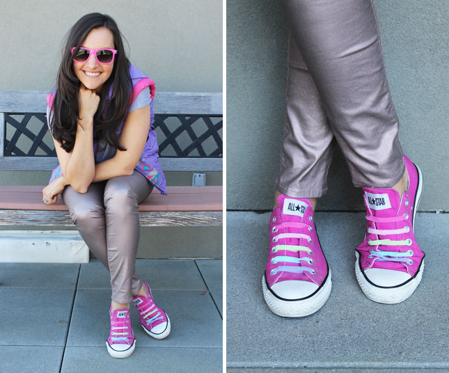 Brit Morin One-Wrap® Straps Sneakers